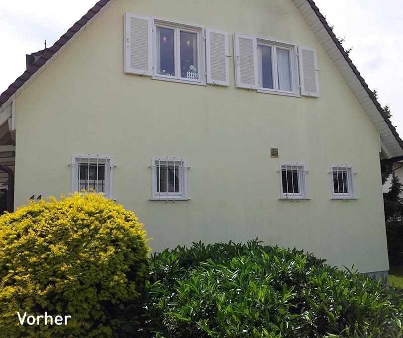 Erweiterung Einfamilienhaus Stutensee vorher