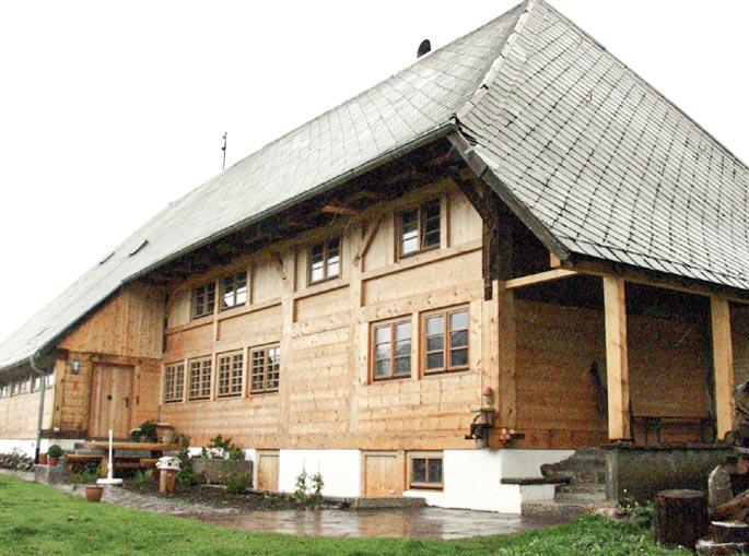 Altmodisches Fachwerkhaus
