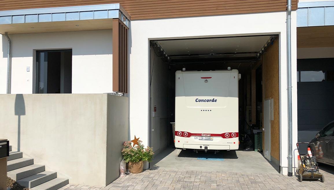 Wohnmobil Garage Grill Deuring