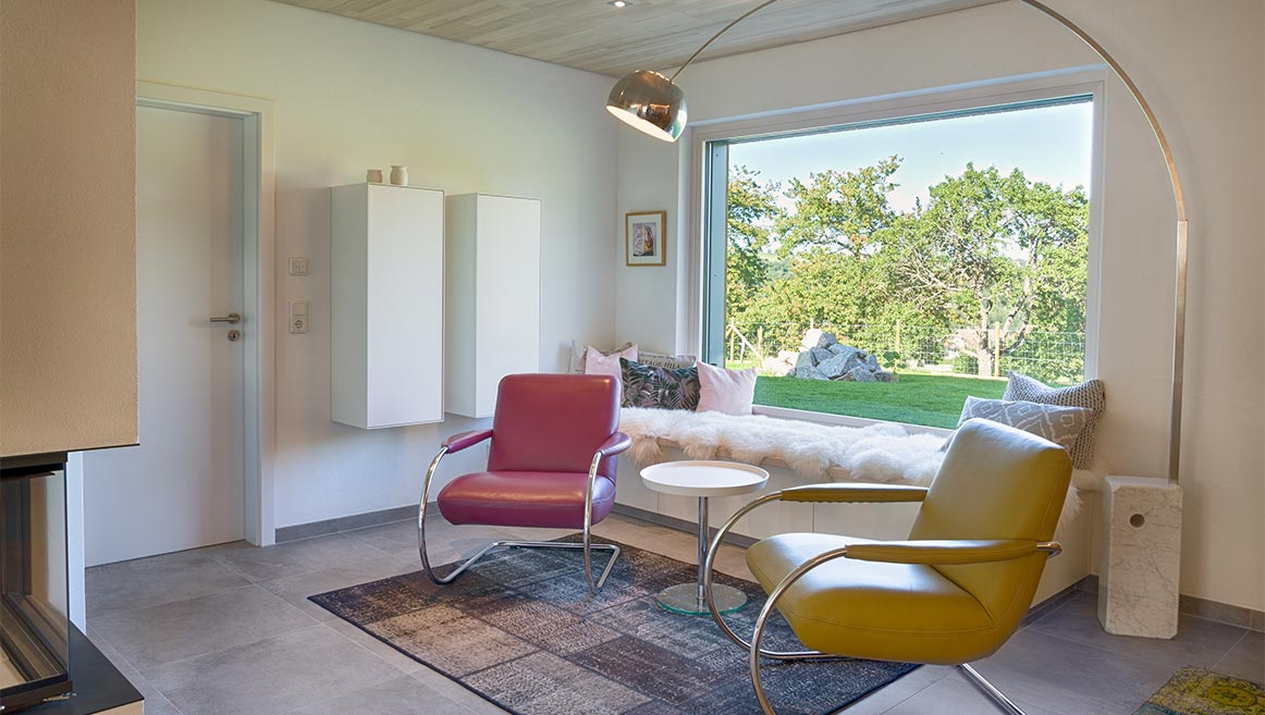 Wohnzimmer Sitzecke Lesezimmer