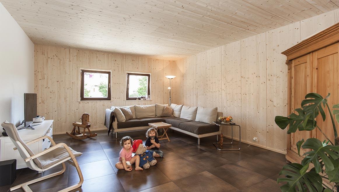 Wohnzimmer Familie Schmid