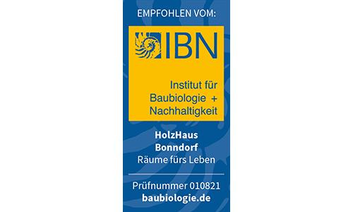 HolzHaus Bonndorf IBN Zertifizierung 2017