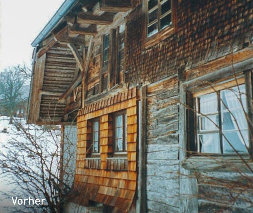 Modernieserung altes Fachwerkhaus